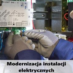 modernizacja instalacji elektrycznych Poznań