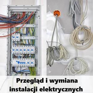 przegląd i wymiana instalacji elektrycznych Poznań