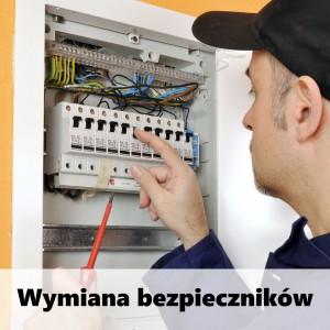 wymiana bezpieczników Poznań