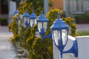 Montaż oświetlenia w ogrodzie