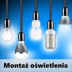 montaz oświetlenia Poznań